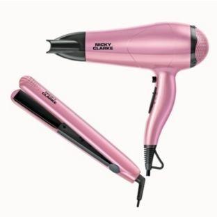 Nicky Clarke hair dryer and straightners £24.99 @ argos