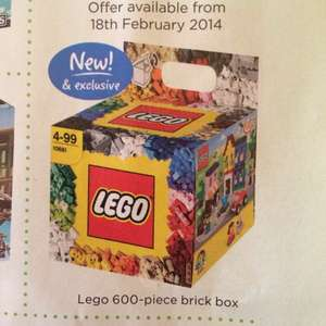 Lego 600-piece brick box (10681) £15 Instore  @ ASDA from 18th February (currently £28.99)  **NOW ONLINE**