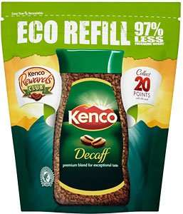 Kenco decaf 150g Eco refill Only £1 at Asda
