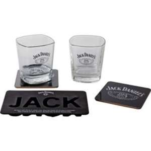 Jack Daniel's tumblers, coasters and ice tray set £5.99 @ Argos was £14.99 (reserve & collect)