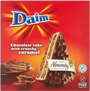 Almondy Daim Chocolate Cake 400G (Gluten Free) £2.00 @ Tesco