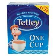 Tetley One Cup 76 Pack 90p @ Farmfoods ~ combine with 50p off Voucher = 40p