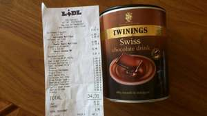 Twinings Swiss Chocolate Drink 350g from LIDL only £1.49