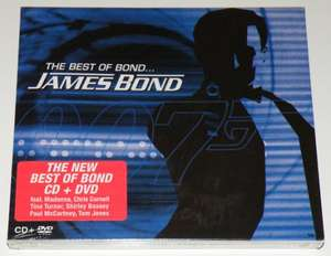 The best of James Bond 40th anniversary edition(CD+DVD) £3.99 at dvd source