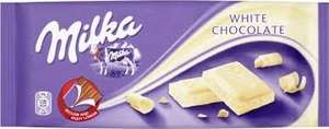 Deals at Farmfoods - Milka Choc all flavours inc white 100g Yorkie Choc Bar 100g, Galaxy Honeycomb/Nut Crunch/Crumble Choc Bars 116g all 2 x £1, Strawberry also Fizzy Lemon Fabulous Bakin' Boys Cupcakes (12's) 2 x £1 and Kinder Choc Bars 8 for £1