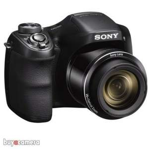 Sony Cybershot DSC H200 20MP 26x Zoom Bridge Camera £106.98 delivered from Buyacamera.co.uk