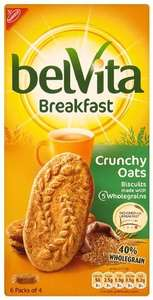 Belvita Crunchy Oats 300g (Pack of 10) 5 Varieties Available £10 @ Amazon (Free Delivery)