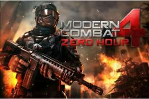 Free copy of Modern Combat 4 for Xperia Z
