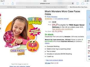 Micro moshi case face Oddie was 9.99 NOW £3.75 delivered @ Amazon/NetPriceDirect