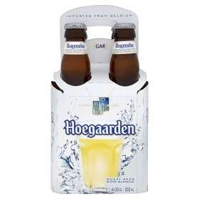 Hoegaarden White Beer.  4 x 330ml bottles ASDA £3