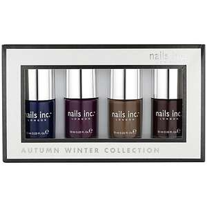 Nails Inc. Autumn / Winter Nail Collection, 4 x 10ml £12.50 was 25.00 @ John Lewis