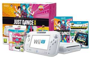 Wii U Basic Nintendo Land, Just Dance Bundle & Wii Party U Pack PLUS two extra remotes - £189.99 @ Amazon