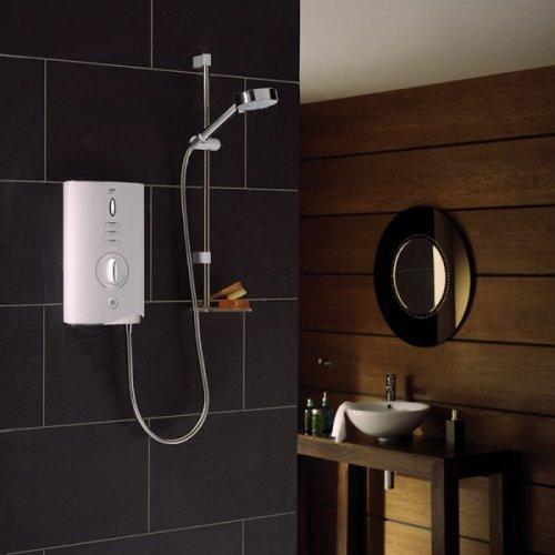 Mira Sport Max Electric Shower 9kW White&Chrome Plumbworld £216+del £5.96 @ plumbworld