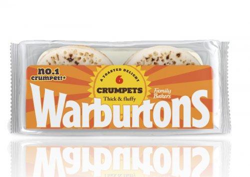 Warburtons Crumpets 65P @ CO-OP