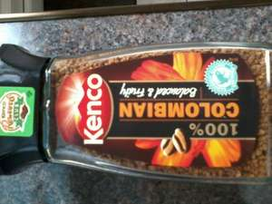 kenco Colombian coffee 100g 75p @ Asda instore