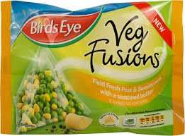Birdseye Vegetable Fusions £1 at Asda ALL VARIETIES