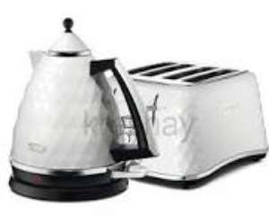 Delonghi Kettles & 4 Slice Toasters £26.50 each at Tesco