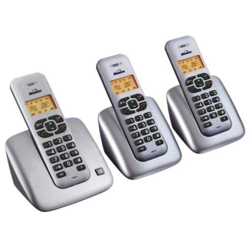 Binatone Solas 1505 Triple cordless telephone £19.20 @ Tesco Direct