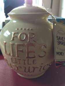 Save and Smash money pot £2.99 at B & M..