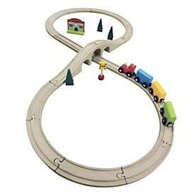 Grow & Play All Aboard Train Set @ Sainsburys. Was £9.99. Now £6.65