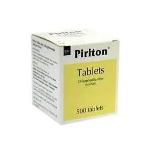 Piriton Chlorphenamine Allergy Tablets 4mg (500 Tablets) - Free Delivery - £9.99 @ Pharmacyfirst