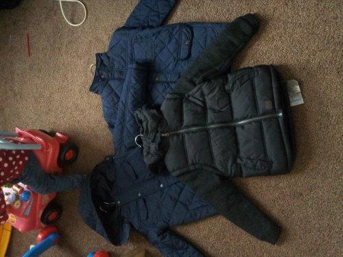 Boys winter coats half price £5 @ primark