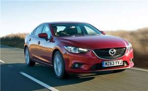 Mazda 6 2.0 Skyactiv 145PS SE-L on a 42 month PCP for just £243.93pm, after £3k deposit