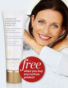 Free Nurture Replenish intensive pigmentation reducing complex worth £15.45 @ Healthspan when buying another Nuture product.