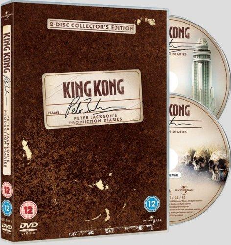 King Kong:Peter Jacksons production diaries(2 disc collectors edition) £1.25 at play/mgandm