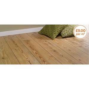 Richmond Oak Laminate Flooring - 2.13 sq m per Pack £19.17 was £47.93 @ Homebase