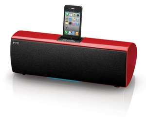 Aves Sapphire Wireless Bluetooth Speaker with iPod Dock - Red £39.99 Sold by Electric Mania Store and Fulfilled by Amazon.