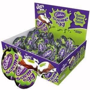 Box of 48 Cadbury Screme Eggs - from cadbury £11.95 with delivery at amazon (short dated)