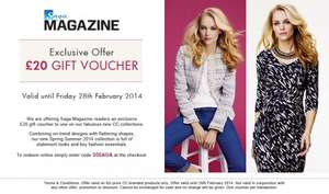 £20 off No Minimum Spend and Free C&C @ Country Fashion