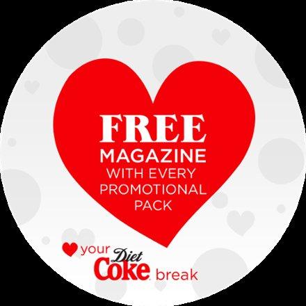 diet coke for free magazine