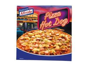 Trattoria Alfredo Hot Dog pizza 99p @ Lidl from thursday 20th February
