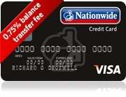 Nationwide Building Society Best Credit Card Ever - 0.75% fee and 0% balance transfer for 26 months!