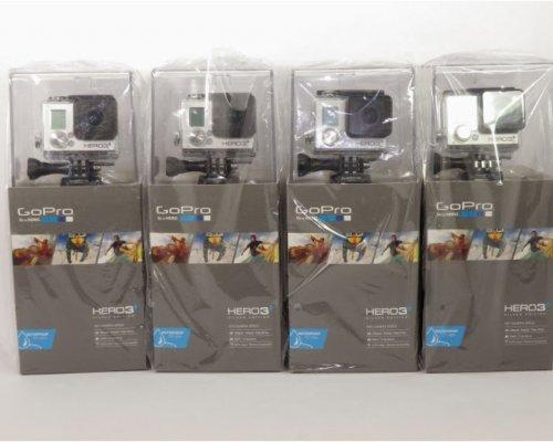 GoPro HD HERO3+ Silver Edition Camcorder Hero 3 PLUS CAMERA NEW 2013 CHDHN-302@ebay-sportsgearinternational