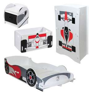 Buy Racing Dreams Bedroom Package in Bedroom Package Deals at MFI £179