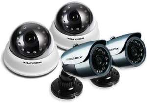 (Sony CCD) CCTV Cameras, 2x Internal / 2x External with Cables & PSU £40.00 @ Ebuyer