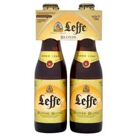 Leffe Blonde 4 * 330 bottles £3 at Asda