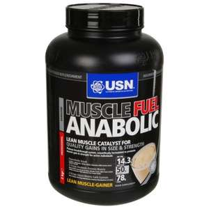USN MUSCLE FUEL ANABOLIC 2KG chocolate flavour +free gift +cosmopolitan mag