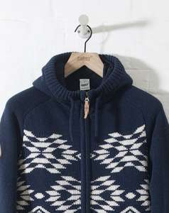 ADDICT ARROW HOODED ZIP KNIT £47.50 @ Addict (50% off)