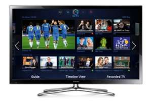 Samsung 60 inch Smart TV Full 1080p Plasma 3D wifi (PS60F5500) £889.99 @ Beyond Television or £867.74 Inc 2.5% Cashback