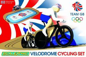 Scalextric G1072 Team GB Velodrome 2012 Track Cycling 1:64 Scale Race Set £14.99 Delivered @ Amazon