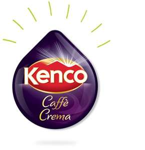 9x16 drinks of Kenco Caffè Crema, £17 delivered @ tassimo.co.uk