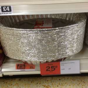 Sainsbury Turkey Foil Roasting Tray 25p @ Sainsburys instore