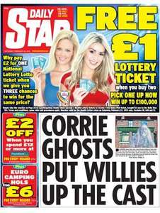 £2 coupon off poundland £12 spend in daily star today
