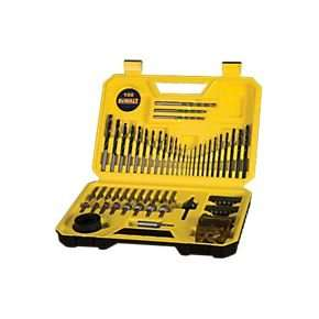 DeWalt DT71563-QZ Combination Drill Bit Set 100 Pieces  £19.99 @ Screwfix