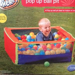 Pop up ball pit  £3.00  @ Tesco instore