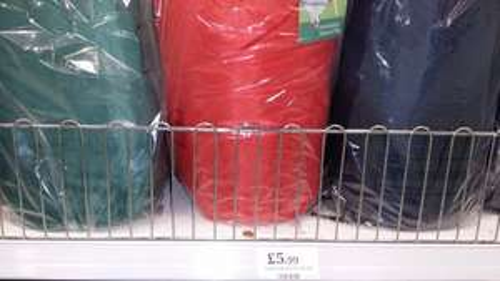 Rectangular sleeping bag for £5.99 @ Home Bargains
